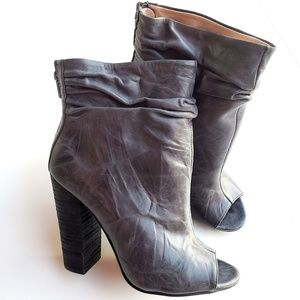 Kristin Cavallari Kaurel Bootie in Gray Leather